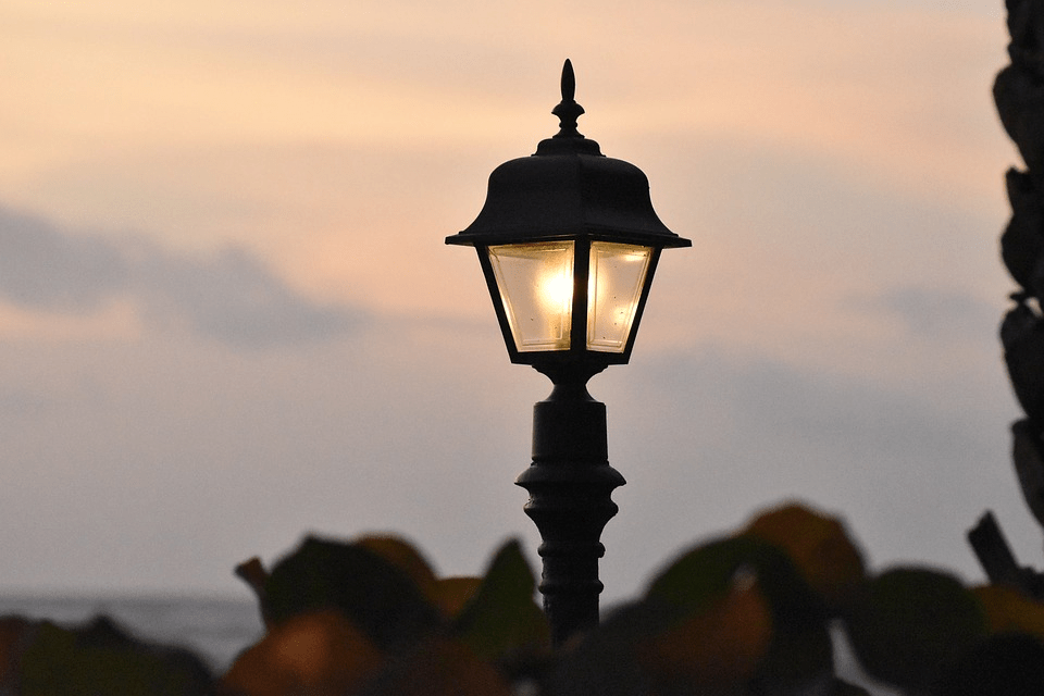 lampa słupkowa