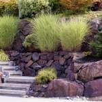 Ogród dwupoziomowy na pochyłym terenie – aranżacja ogrodu na stoku