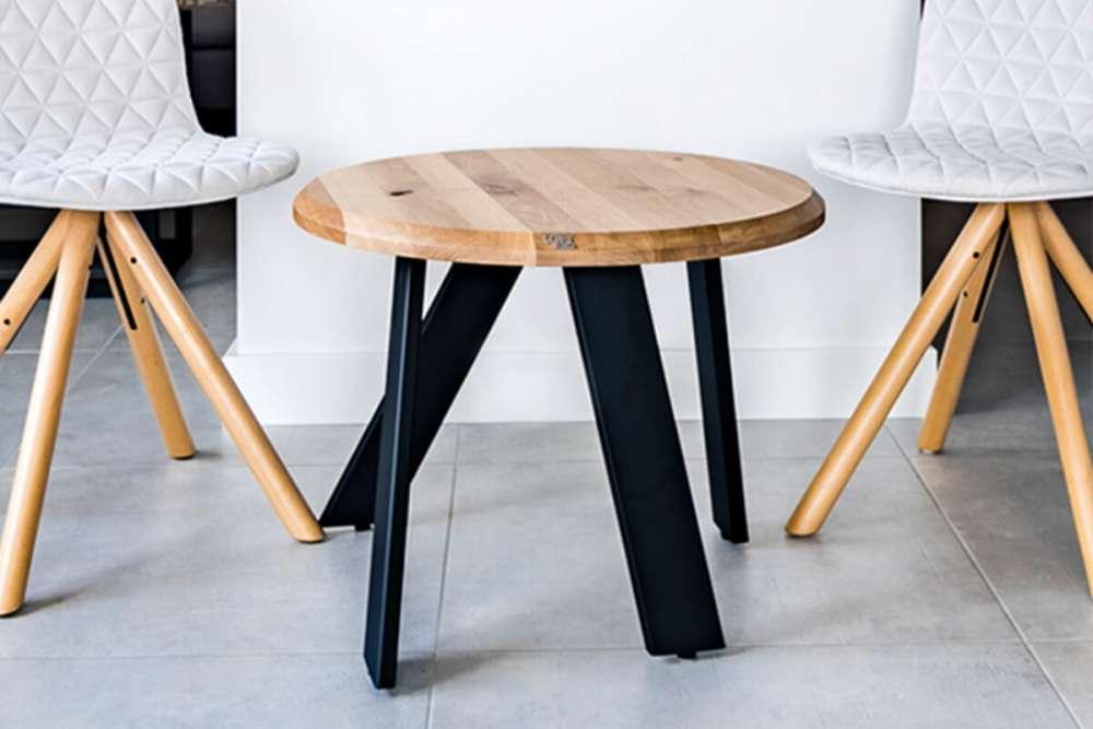 meble loftowe do przedpokoju - stolik